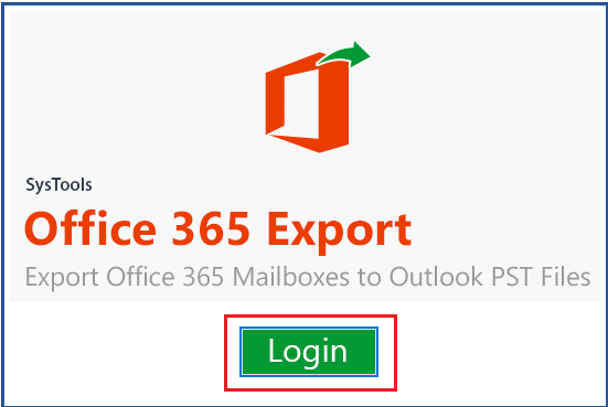 Click on Office 365 Login Button